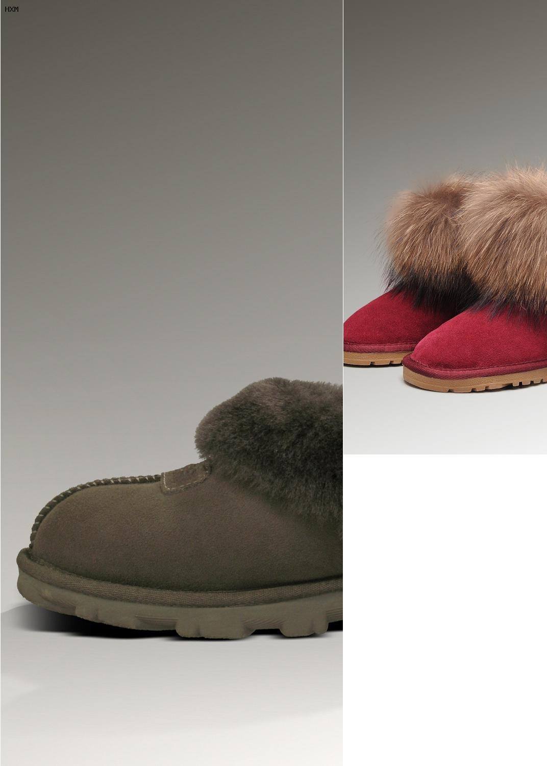 boots fourrées style ugg
