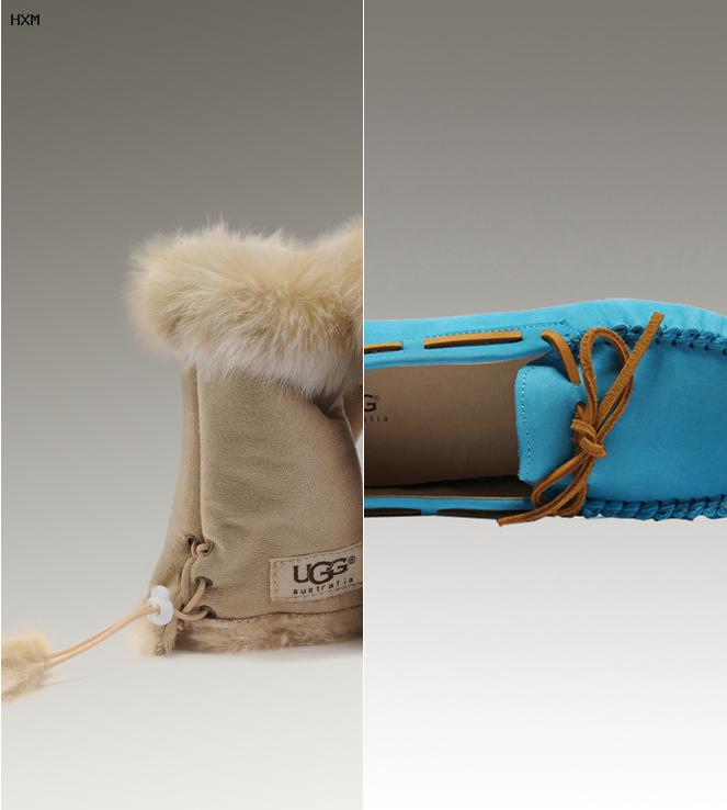 bottines ugg a lacets