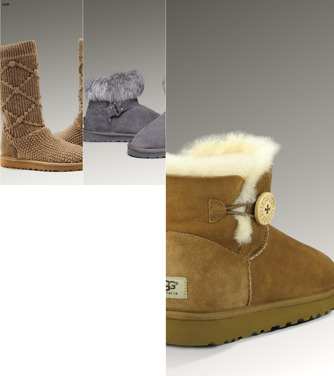 chausson ugg homme